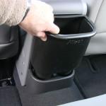 push the trash stash into place