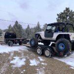 Heavy Jeep Load