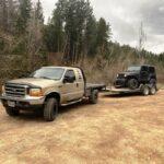 Lighter Jeep Load